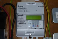 photo of UK smart meter