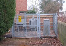 photo of outdoors substation