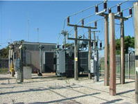 photo of intermediate voltage substation