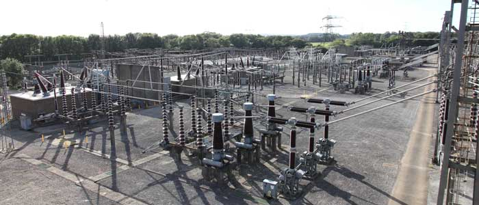 photo of national grid substation