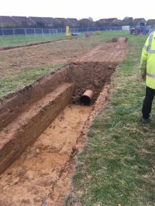 screening DC buried