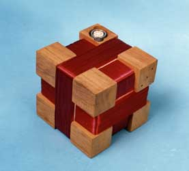 photo of search coil cube