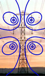 drawing of magnetic field lines