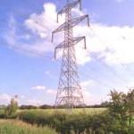 phot of double-circuit pylon