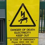 photo of warning sign