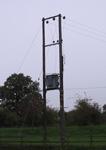 photo of pole mounted substation